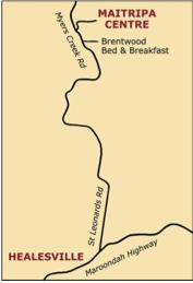 maitripa map